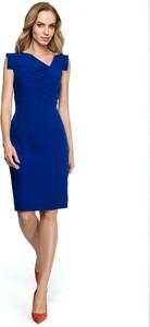 Sukienka Stylove prosta z dekoltem w kształcie litery v bez rękawów