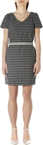 Czarna sukienka Cristina Effe mini w stylu casual