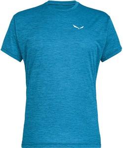 Niebieski t-shirt Salewa