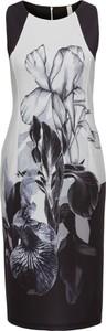 Sukienka bonprix BODYFLIRT boutique z okrągłym dekoltem midi
