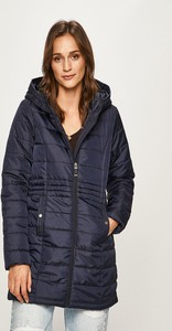 Niebieska kurtka Vero Moda długa w stylu casual