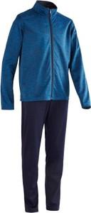 Niebieski dres dziecięcy Domyos z dzianiny