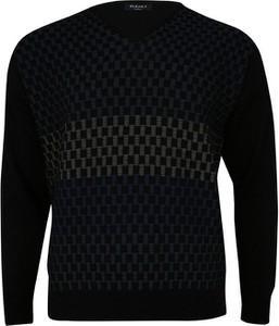 Granatowy sweter Elkjaer w stylu casual