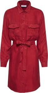 Czerwona sukienka EDITED z tkaniny
