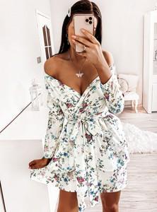 Sukienka Pakuten mini z długim rękawem