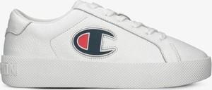 Buty sportowe Champion z płaską podeszwą w sportowym stylu sznurowane