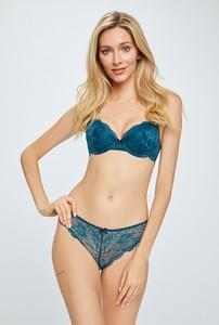Niebieski biustonosz Heidi Klum Intimates