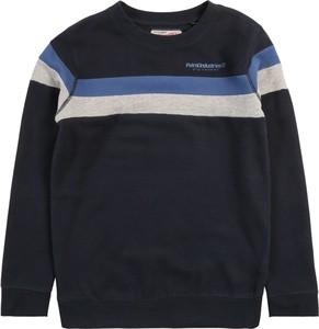 Czarna bluza dziecięca Petrol Industries w paseczki