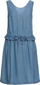 Sukienka bonprix BODYFLIRT z okrągłym dekoltem trapezowa