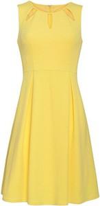 Sukienka Smashed Lemon z okrągłym dekoltem bez rękawów midi