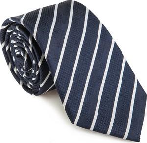 Niebieski krawat wittchen z jedwabiu