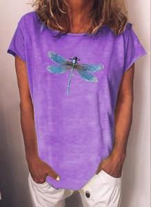 Fioletowa bluzka Sandbella