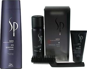 Wella SP Men Zestaw dla mężczyzn | Szampon Sensitive 250ml + Pianka czarna pigmentująca - Wysyłka w 24H!