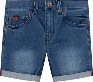 Niebieskie spodenki dziecięce Timberland z jeansu