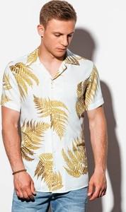 Koszula Ombre z nadrukiem z krótkim rękawem