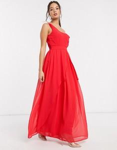 Czerwona sukienka Little Mistress bez rękawów