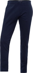 Niebieskie chinosy Cross Jeans z bawełny