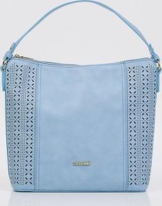 Niebieska torebka Monnari na ramię