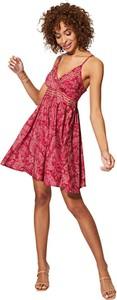 Sukienka Aller Simplement z dekoltem w kształcie litery v