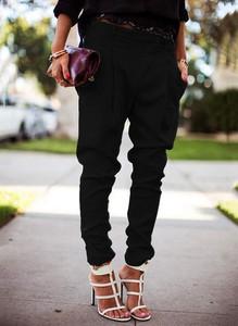 Czarne spodnie Cikelly