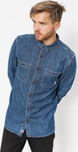 Niebieska koszula Element z długim rękawem w stylu casual