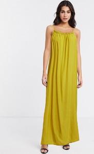 Sukienka Object na ramiączkach maxi