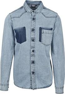 Błękitna koszula Urban Classics