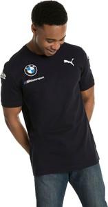 Czarny t-shirt Puma z krótkim rękawem