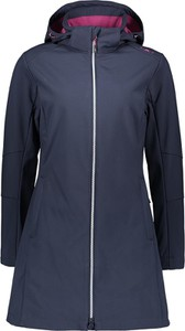 Granatowy płaszcz CMP z plaru
