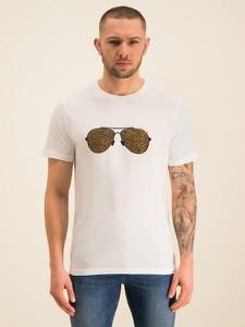 T-shirt Michael Kors z nadrukiem z krótkim rękawem