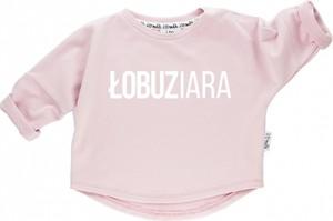 Różowa bluza dziecięca