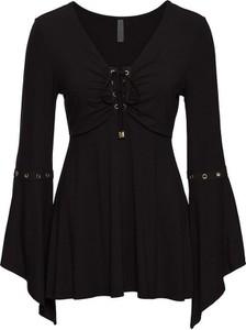 Bluzka bonprix BODYFLIRT boutique z okrągłym dekoltem z długim rękawem w stylu casual