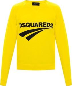 Bluza Dsquared2 z bawełny w młodzieżowym stylu