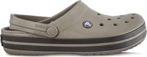 Brązowe buty letnie męskie Crocs w stylu casual