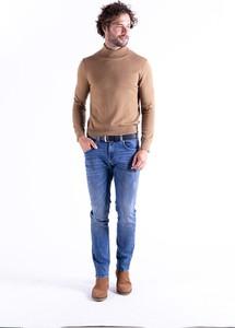 Brązowy sweter MEXX w stylu casual
