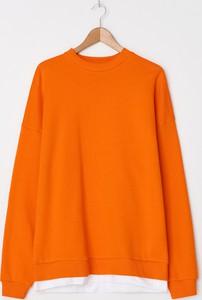 Pomarańczowa bluza House