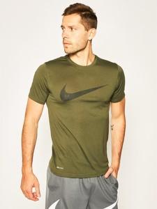 Zielony t-shirt Nike