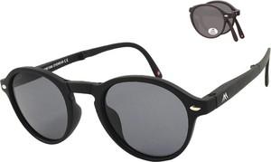 Czarne okulary damskie Montana