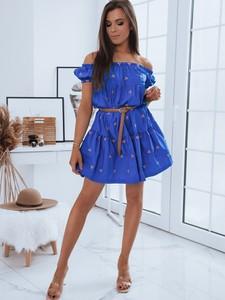 Sukienka Dstreet z bawełny hiszpanka mini
