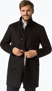 Czarny płaszcz męski Joop!