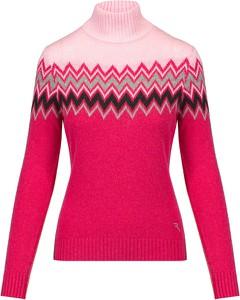 Sweter Chervo w sportowym stylu z tkaniny