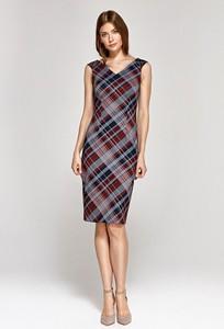 Sukienka Colett bez rękawów z dekoltem w kształcie litery v