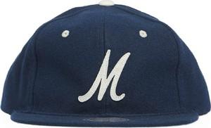 Niebieska czapka Mitchell & Ness