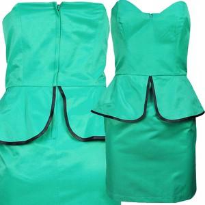 Sukienka ATMOSPHERE mini bez rękawów baskinka