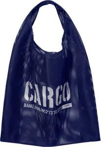 Granatowa torebka CARGO by OWEE w młodzieżowym stylu na ramię