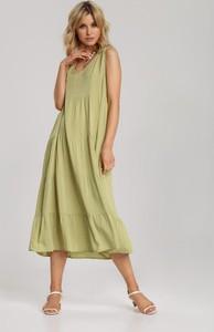 Sukienka Renee rozkloszowana bez rękawów