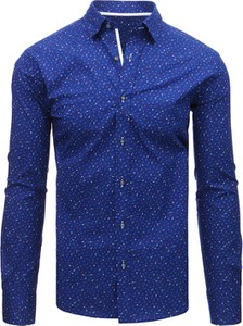 Niebieska koszula dstreet w stylu casual