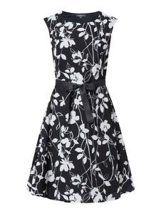 Granatowa sukienka Montego