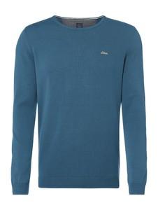 Zielony sweter S.Oliver Red Label z bawełny