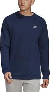 Bluza Adidas w sportowym stylu z bawełny z nadrukiem